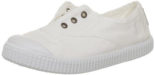 VictoriaInglesa Lona Tenida Punt - Basse Unisex - Bambini Blanc (20 Blanco)