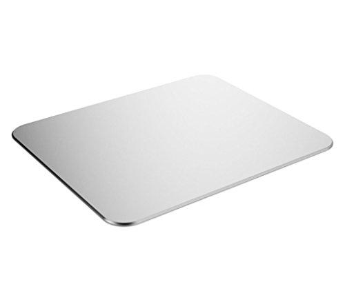 Control-finish (syarin (TM) Luxuriöses Mauspad aus Aluminium, für Gaming Maus Verwenden, Silikon Pads unter jeder Ecke von Boden & Premium-Finish Oberfläche für schnelles und genaues control-compatible jeden DPI Geschwindigkeit und optische Laser-Mäuse oder Desktop)