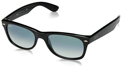 Ray-Ban Unisex-Erwachsene 0RB2132 901/3A 52 Sonnenbrille, Black/Cleargradientgreen,