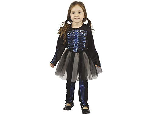 DISONIL Kostüm für Babys Röntgenskelett Größe S