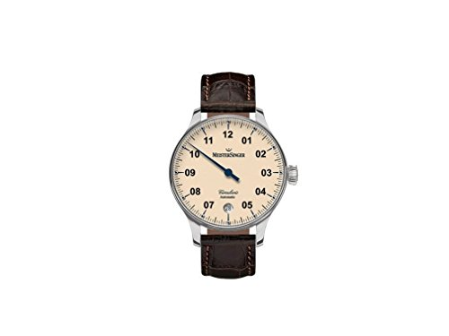 Meistersinger Mens Watch Circularis automatic CC903