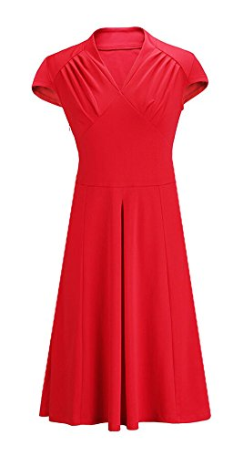 KingField - Robe - Crayon - Femme Medium Rouge - Rouge