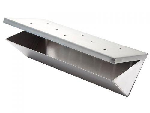Wood Chip Räucher Box aus Edelstahl -