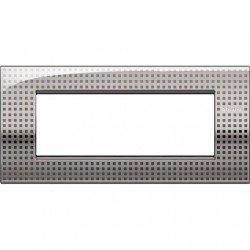 Bticino Livinglight lnc4807ne���ll-placa Air 7�m Net