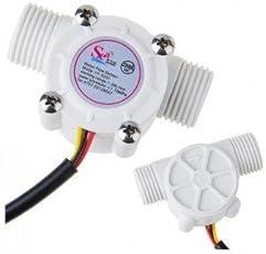 Robu.In Water Flow Sensor / Fluid Flowmeter Control Switch YF-S201