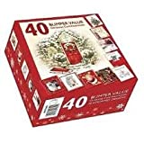 Christmas Cards - Box of 50 -  Assorted Xmas Card Designs Best Review Guide