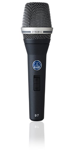 AKG D7 Switched - Micrófono dinámico (vocal, de mano)