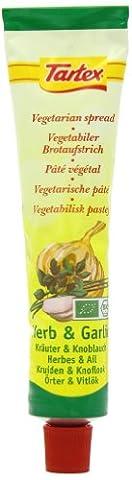 Tartex Organic Herb and Garlic Pate 200 g (Pack of