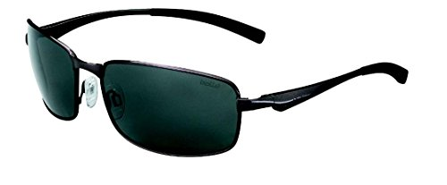 Bollé Sonnenbrille Key West, Satin Gun/Polarized Tns Oleo, 12117