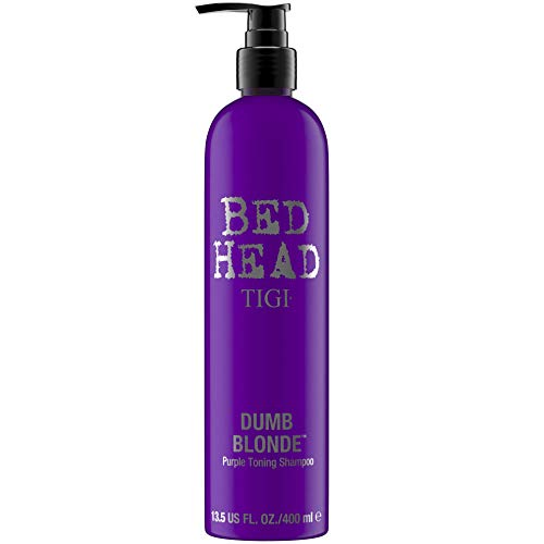 Tigi Bed Head Dumb Blonde Shampoo 400ml Tonique Violet