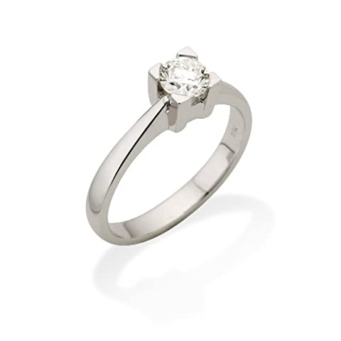Miore Femme 750 or blanc 750/1000 (18 cts) blanc/wesselton (g) Diamant