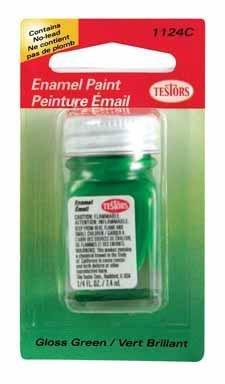 Testors Enamel Hobby Paint 1/4 Oz Green by Testors Corporation