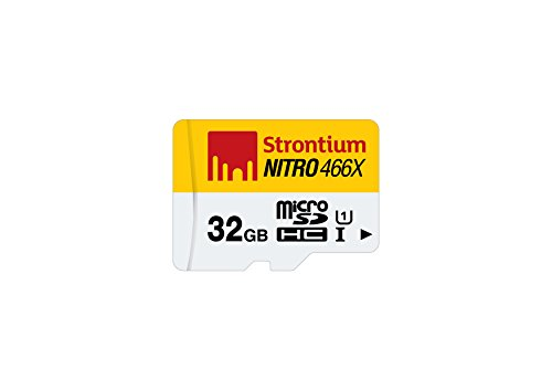 Strontium Nitro 32GB 70MB/s UHS-1 Class 10 microsdhc Memory card (without adapter/card reader)