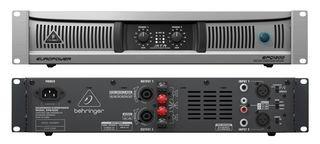 Dynamic-Res BEHRINGER - EPQ1200 - AMPLIFIER, 2 X 600W, 2U - Pack of 1 --