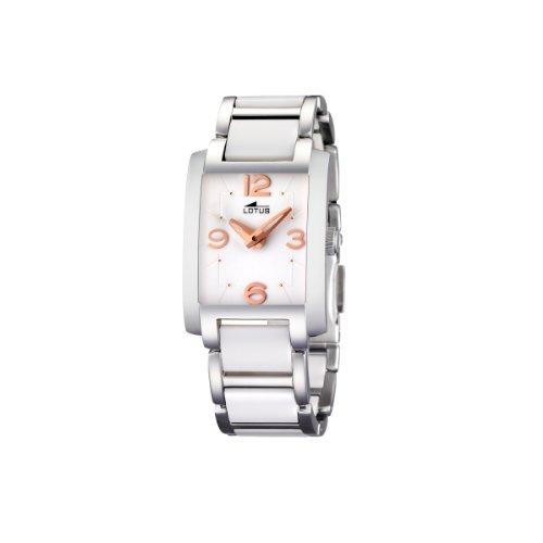 Lotus 15594/2 - Reloj de Mujer de Cuarzo, Correa de cerámica
