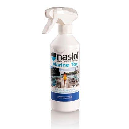 NASIOL MARINETEX - Protector para superficies textiles Náuticas, de liquidos y manchas sin cambiar ni textura ni color, ¡Increible!