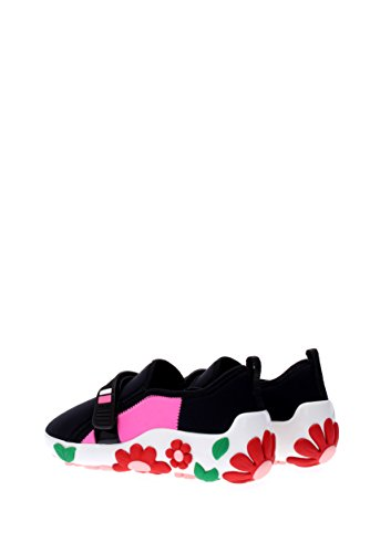 Prada Sneakers Donna - Tessuto (1T519H) EU Nero