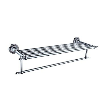 miaoge® Moderne Chrom Wand montiert Handtuch Bars/Badregal -