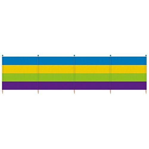 Yello Unisex 5Dicke Streifen Windschutz, Mehrfarbig, 5Pole