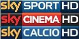SKY PREPAGATA HD CON SKY TV + 3 PACCHETTI: CINEMA + SPORT + CALCIO (scad. 31/10/2017)
