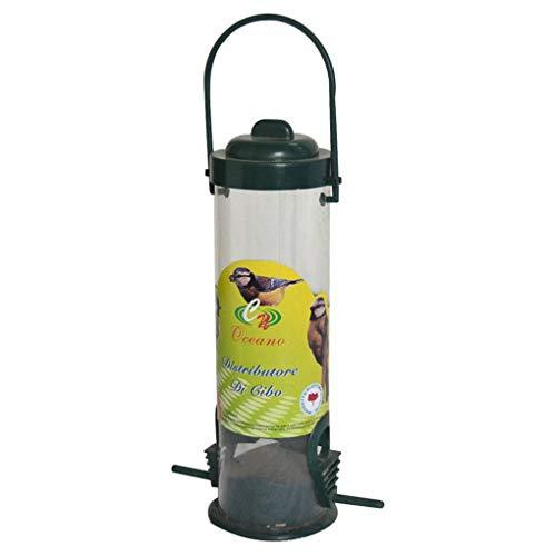 Fgyhty No tóxicos Birds 7.5x14x29cm PVC manija alimentador