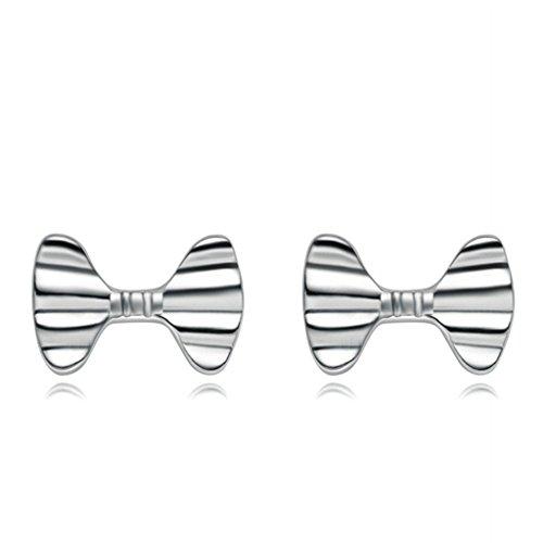 amdxd-jewelry-silver-plated-women-stud-earrings-bowknot-silver