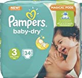 Pampers Windeln baby-dry Grˆ e 2 Mini, 3-6 kg, Sparpack VE = 1