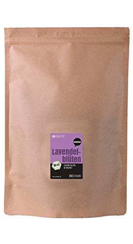 Wohltuer Bio Lavendelblüten 200g I Beste Bio-Qualität aus Frankreich I Für Lavendel-Tee, als Wellness Bad oder als Duft -