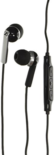 Sennheiser CX 2.00i - Auriculares in-ear (compatible iPhone/iPod/iPad), negro