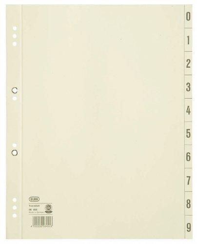 blätter aus Recycling-Kraftkarton für DIN A4 100er Pack Lochung 6 und 8 cm geöst chamois Trennlaschen Trennblätter Ordner Register Kalender Blauer Engel (Karton Ausgeschnitten)