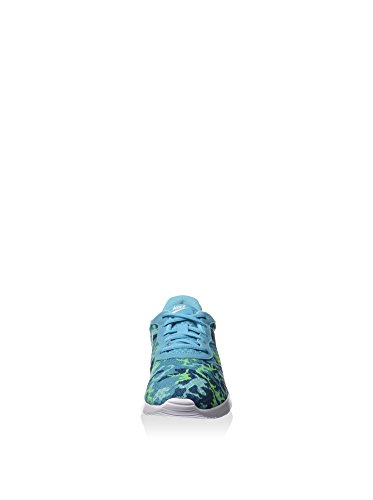 Nike - Wmns Tanjun Print, Scarpe sportive Donna Blu/bianco-verde-verde (Gmm Bl/White-Ghst Grn-Grn Abys)