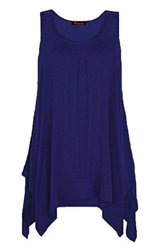 Sugerdiva Damen Tunika Kleid Navy