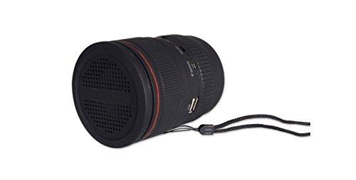 Dakota - Radio / Lautsprecher / MP3-Player KAMERAOBJEKTIV, 10 cm - 25139DK -