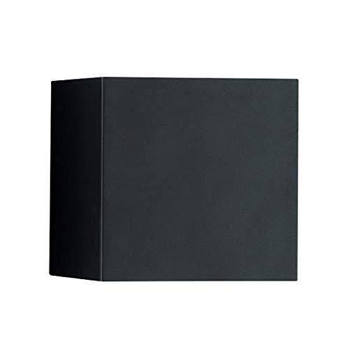 Helestra Siri 44-L LED Außenwandleuchte, schwarz matt LxBxH 15x15x15cm 3000K 950lm