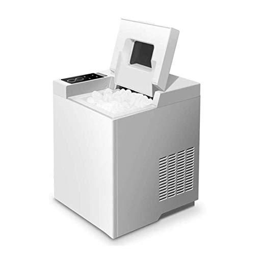 CJVJKN Totalmente de Escritorio automática hogar Máquina de Hielo, el Hielo Hacen 15kg 6-8 Minutos...