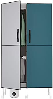 FLAMY Sèche Linge,Puissance 1200W, Double Porte Magnétique, Grande Capacité 640L, Support Épais en Acier Inoxy