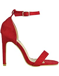 mejor selección 7181b 8f1be Amazon.es: Sandalias Rojas - 39 / Zapatos de tacón / Zapatos ...