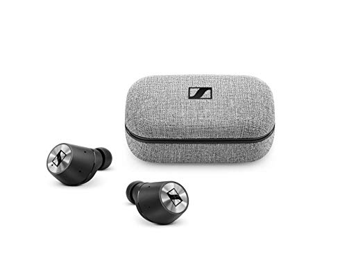 Sennheiser MOMENTUM True Wireless Bluetooth-Ohrhörer, Schwarz/Chrom thumbnail