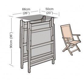Guirlande Bronze Housse de Chaise inclinable