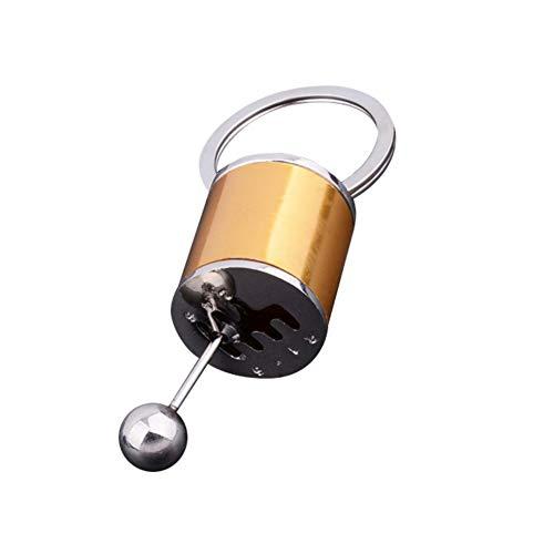 WEISY Schlüsselbund Schlüsselhalter Schlüsselorganisator Kreatives Autoteil Modell Gangschaltung Schlüsselbund Schlüsselbund