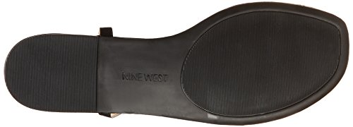 Nine West Shipout Cuir Tongs Black