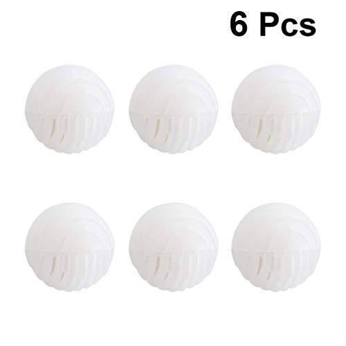 SUPVOX Luftreinigungs Schuhe Deodorant Ball und Geruch Entferner Schuhdeo und Geruch Eliminator für Hausschuhe Flachs Geschmack 6pcs