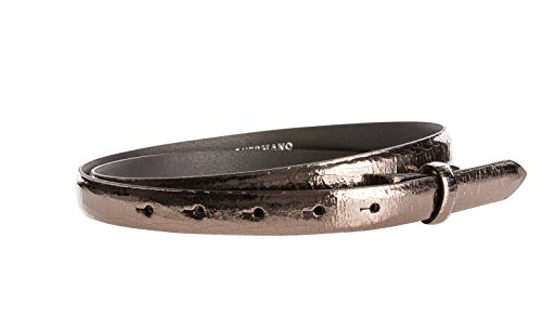 Gürtel Leder 20mm Bronze Glanz - Gürtelriemen Aus Rindsleder In 2 CM Breite - Ledergürtel Aus Echt Leder Ohne Schnalle (Peach Anzug Rock)