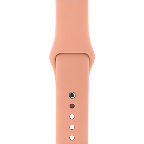 Apple Watch Sportarmband, 42 mm Gehäuse, Flamingo