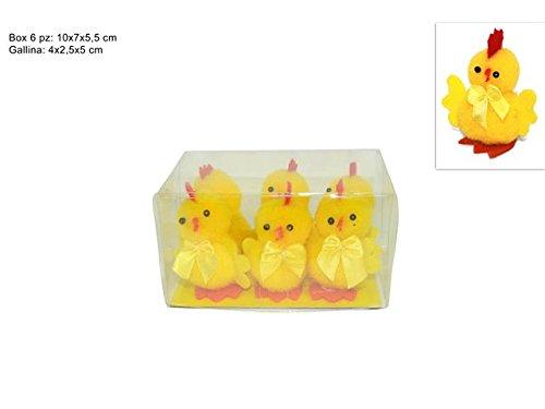 Box con 6 gallinelle