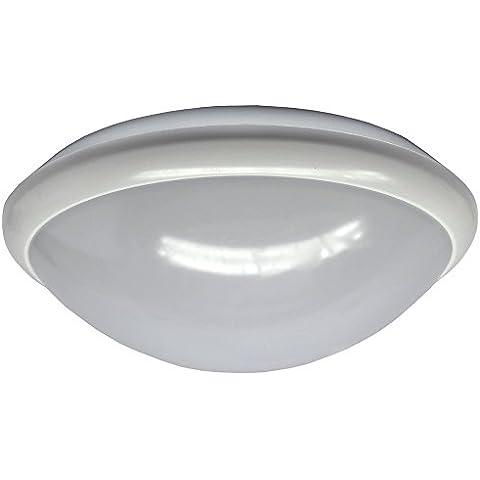 Blink Resist–Wandleuchte LED mit Sensor HF, weiß, IP44, 15W