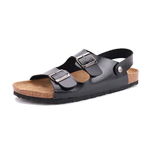 Sandali per Sughero Infradito per Adulti Scivolano su Scarpe da Spiaggia Anti slittiche Amanti della Spiaggia Pantofole d'Acqua per Il Bagno in Famiglia all'aperto