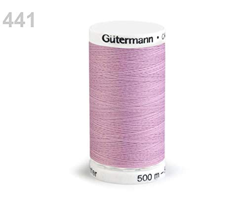1pc 441 Pastel Lilac Polyester-Fäden 500 M Gütermann, Nähen, Kurzwaren (Pasteles Maschine)