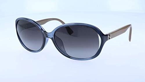 Fendi Damen Sunglasses Ff 0032/F/S 7Rb/9O-60-17-125 Sonnenbrille, Blau, 60