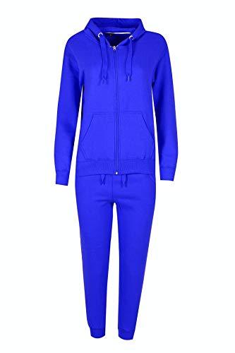 H&F Girls Damen Kapuzenpullover Gr. 13 Jahre, königsblau